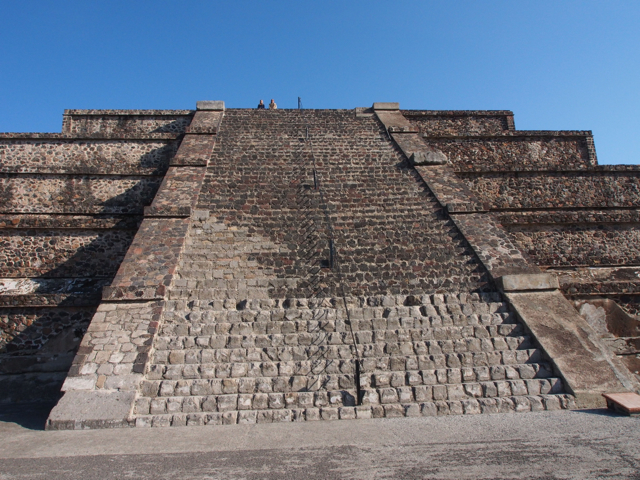 Stairs - Pyramid of the Moon